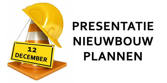 12 December – presentatie bouwplannen dijkzone