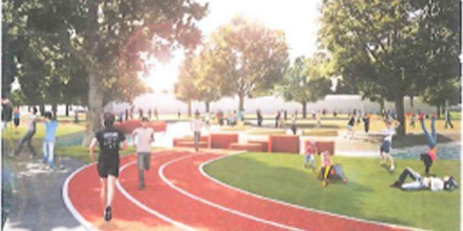 Aanleg nieuw sportcircuit Olympus Kwartier