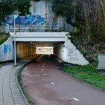banner tunneltje Eimersweide