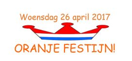 26 April Oranjefestijn- Kom naar de Malburcht!