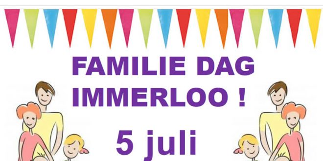 5 Juli – Familiedag in Immerloo