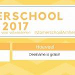 banner zomerschool 2017
