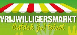 14 September – vrijwilligersmarkt in Het Bruishuis