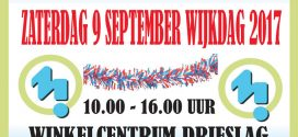 Zaterdag 9 September – Wijkdag op de Drieslag