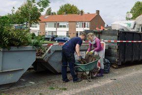 Succesvolle tuin-opknap actie in de Kruidenbuurt