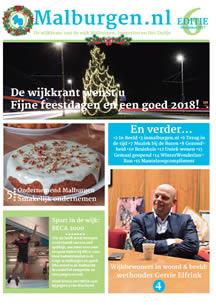 Wijkkrant Malburgen editie 6 2017