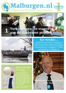 Wijkkrant Malburgen.nl editie 1 2018