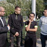 werkbezoek jongerenwerk burgemeester