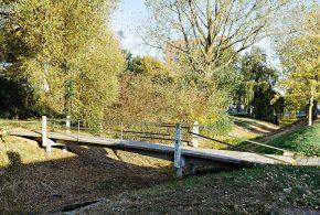 Nieuwe bruggetjes in Malburgen Oost-Noord