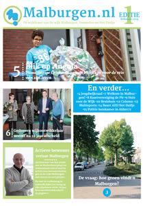 Wijkkrant Malburgen editie 1 2019