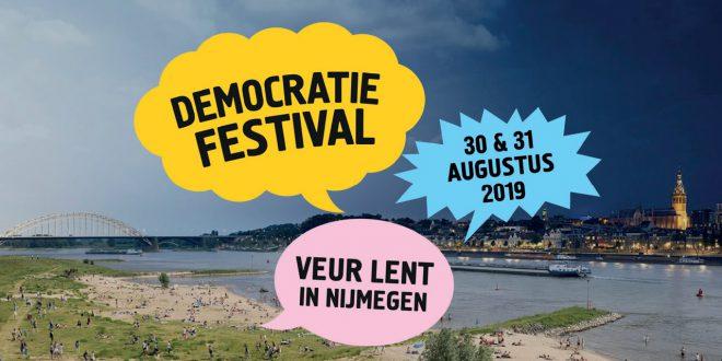 Ga mee naar het democratiefestival op 30 en 31 augustus!