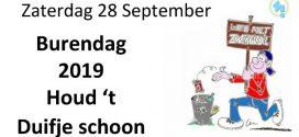 Burendag 2019 in Het Duifje – Houd't Duifje Schoon!