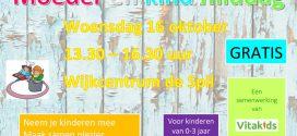16 oktober – Moeder en Kind Middag in MFC DE Spil