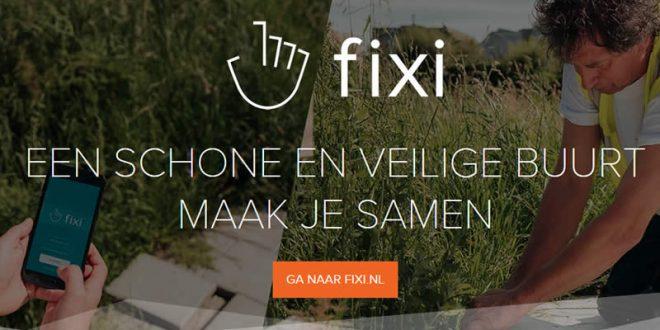 Melding in de openbare ruimte – doe het met Fixi!