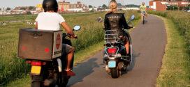 Grote actie tegen brommers en scooters op fietspaden Bandijk en Grote Griet