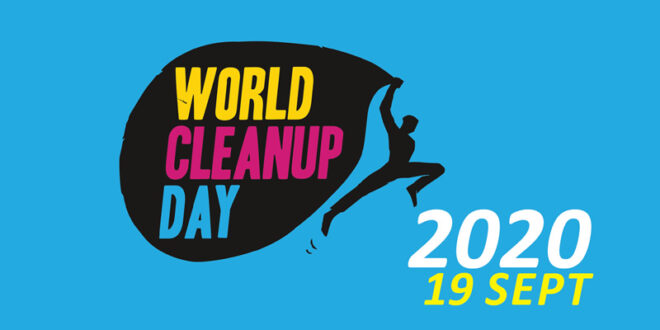 Zaterdag 19 september – Doe ook mee met World Clean Up Day!